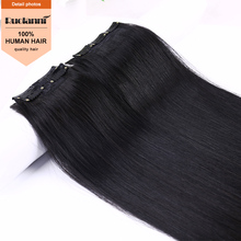 Unprocessed brazilian human hair wigs for sale 30 inch human hair extensions clip in