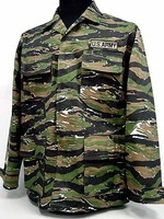 Tiger stripe camouflage BDU military tactical uniform