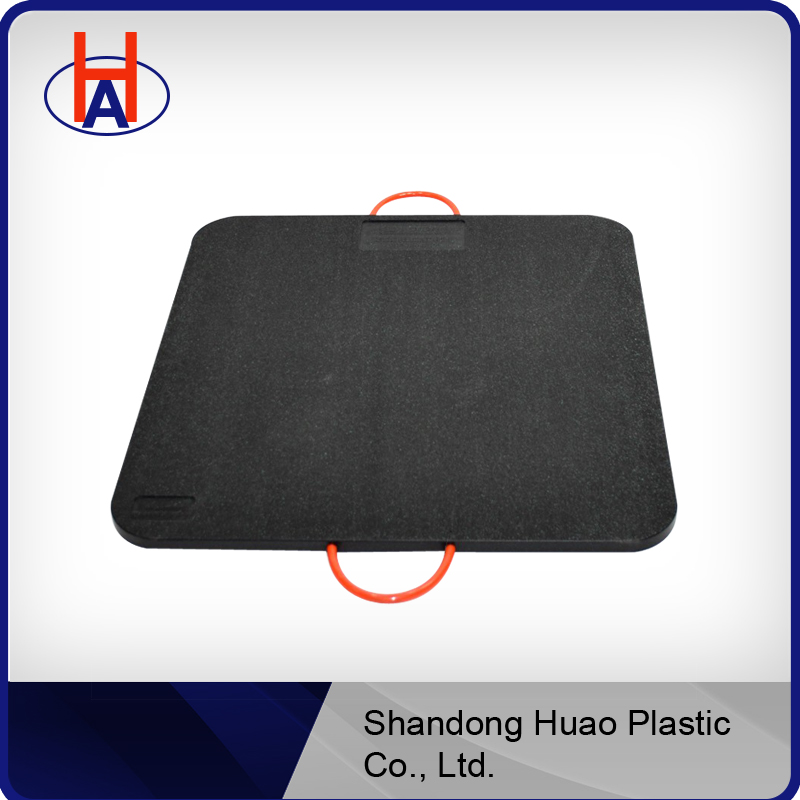 portable plastic PE outrigger pad, outrigger jack pad, uhmw-pe plastic outrigger pad
