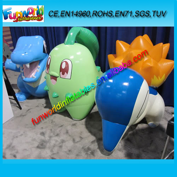 Inflatable Pokemon Model, Inflatable Cartoon Figures, Pokemon Character Inflatables (FUNPM1-031)