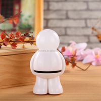 Switch color changing Mini astronaut LED night light plug in Night lamp for toilet