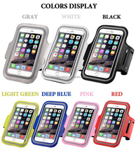Neoprene armband cell phone cause made in china