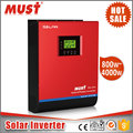 OEM Hybrid solar inverter charger DC/AC inverters power 5kw 48v 80a