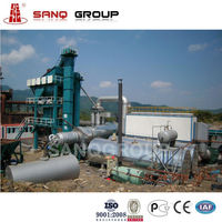 160t/h Asphalt Batch Mixing Plant in Asphalt Machine Price