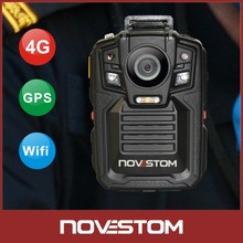 hot Wholesale 4G Body Worn wifi GPS Lighter CCTV Camera for police