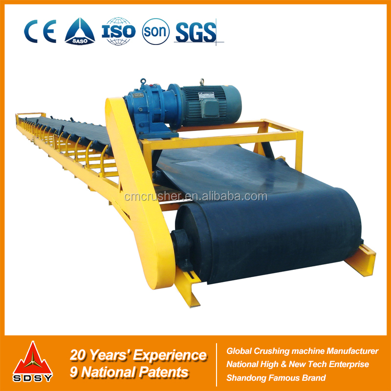 BS Belt Conveyor for Sand Stone Production/ Top Quality Belt Conveyor for Construction Materials