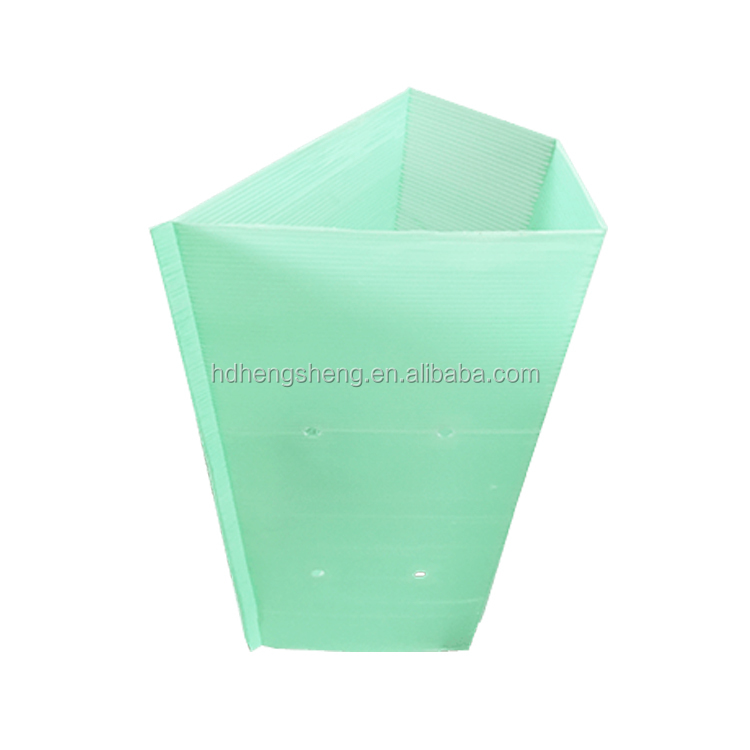China factory eco-friendly corrugated plastic sheet for plant protection