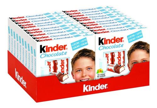 Kinder Chocolate T4 50g - Buy Kinder Chocolate Ferrero Product on ...