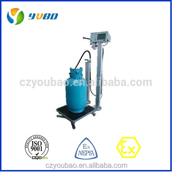 Yubo explosion-proof LPG liquefied petroleum gas filling machine