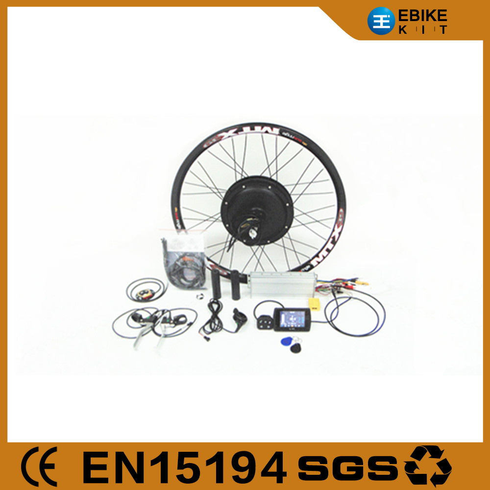 2016 new display technology! E-bike conversion kit 48v 1000w engine kit