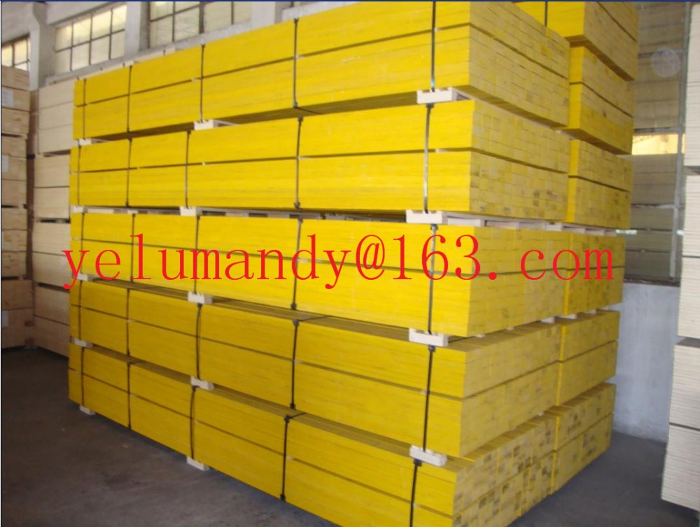 China LVL scaffold board used for construction/formwork