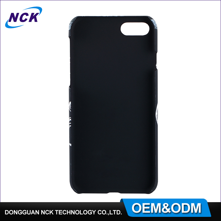 MOQ=100pcs free sample colorful water transfer oem custom pc case for iphone 6 7 7plus
