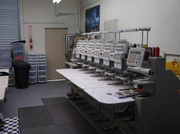 Swf Embroidery Machine 6 Heads-12 color