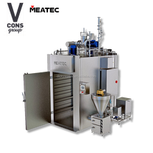 smokehouse sausage fish food processing machine