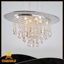 Simple and generous crystal chandelier raindrop