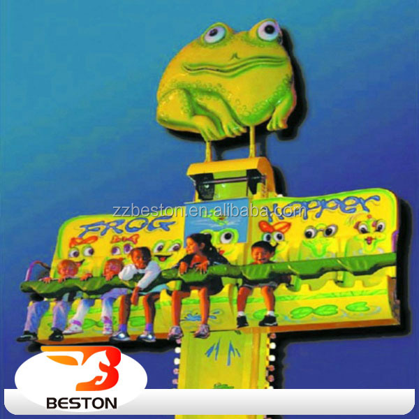 Frog Jumping Tower Kiddie Rides Outdoor Park Games for Adults Amusements