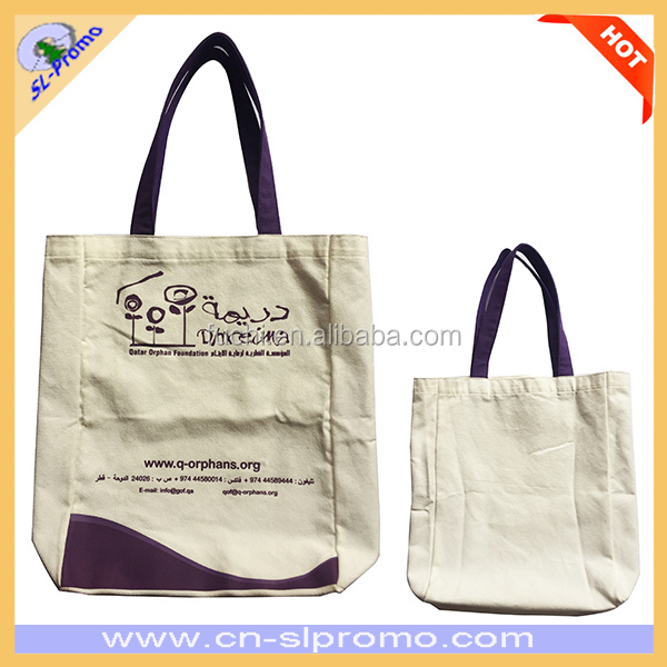 China Manufacturer Wholesale Promotional Cotton Shopping Bag