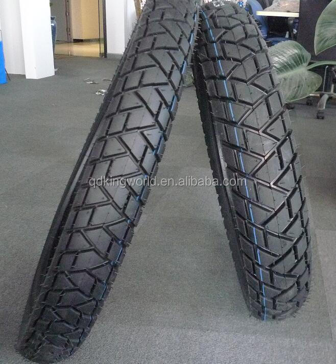 China Qingdao Factory 6PR Trail Pattern Motorcycle Tires 2.75-18 4.10-18