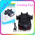 Dual Dock USB Cooling Fan Controller Charger Stand For XBOX One