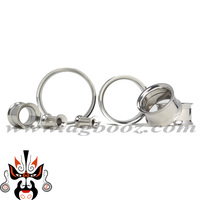 Free shipping flesh screw trumpet stainless steel body piercing jewelry ear plugs and tunnels SS-1511