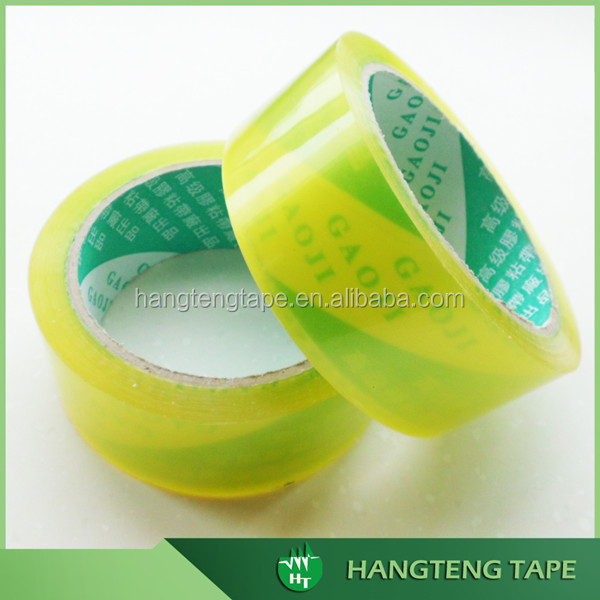 Hand wrapping stationery packing bopp material adhesive tapes