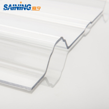 uv polycarbonate plastic panels large corrugated plastic roofing sheets