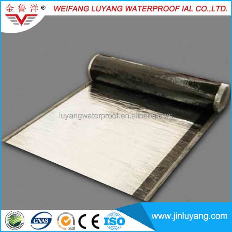 Easy to Apply Self Adhesive Modified Bitumen Waterproof Membrane Roofing Felt
