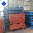 Steel mold formwork for construction of building hollow thin-walled pier internal mold