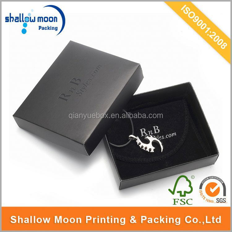 Wholesale customize a set jewelry box luxury packaging