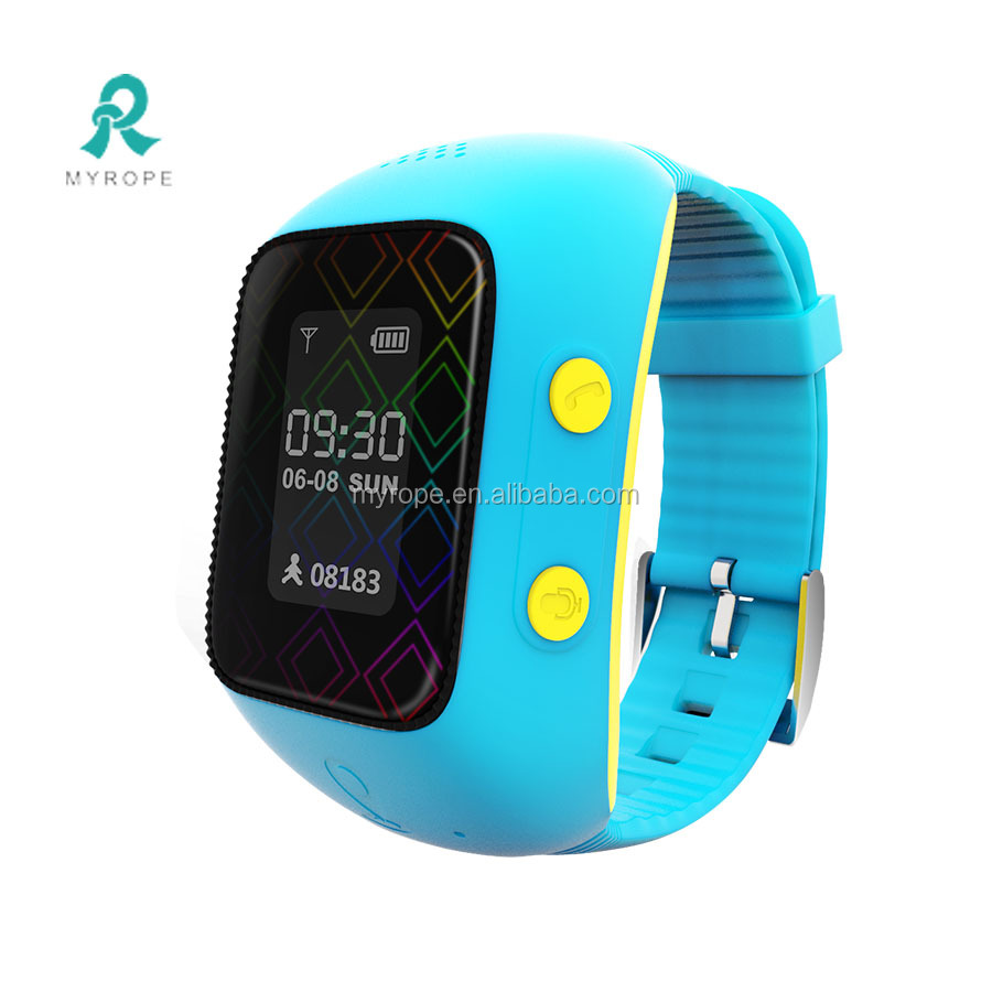 Wrist watch pedometer for elderly like sim mobile phones/long battery life gps sos tracker watch phone R12