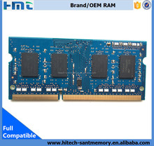 Free OEM logo print Wholesale SO-DIMM DDR3 4gb ram for laptop computer