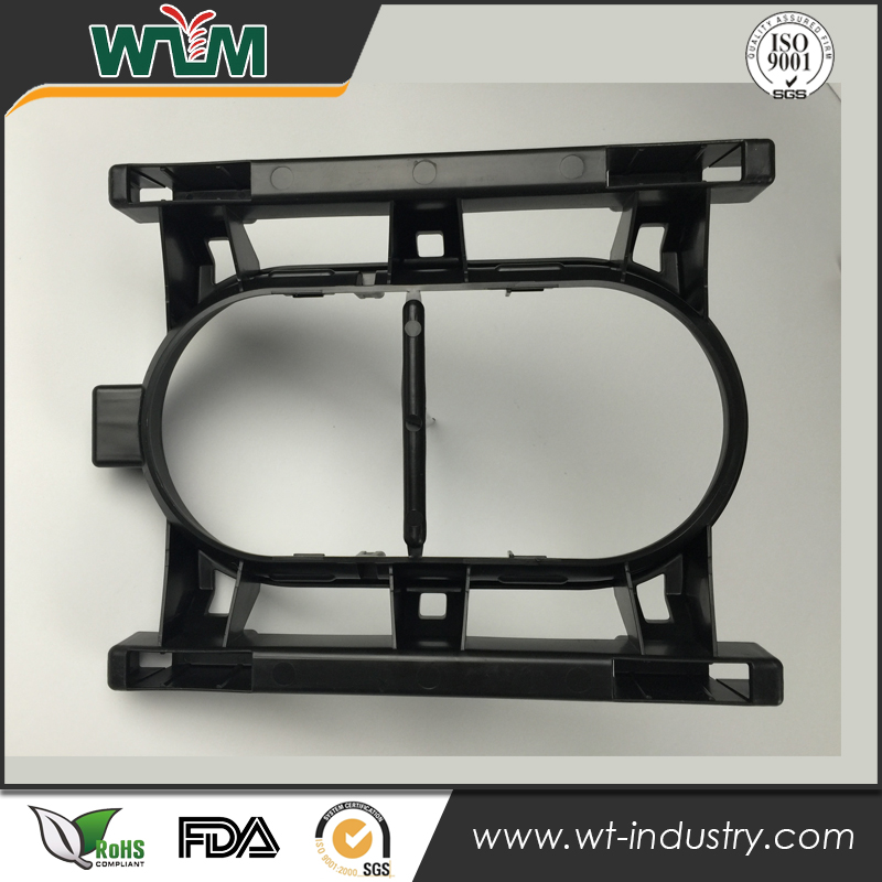 Precision injection PP plastic mould for auto cup holder manufacture