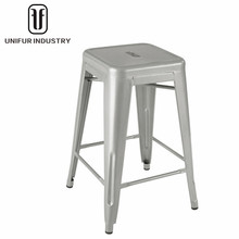 Modern metal cheap high stools without backrest