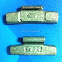 Fe/steel clips wheel balance weights for steel wheel