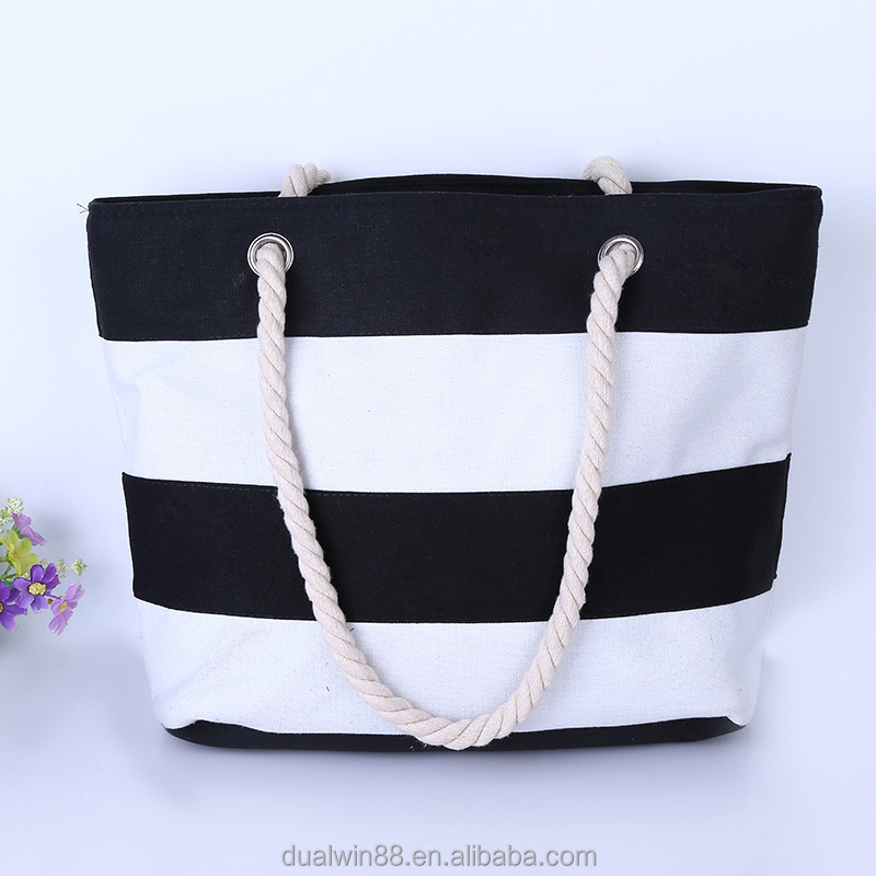 Factory whosale price canvas beach bag 2015, beach tote bag, canvas bags
