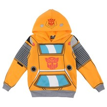 2015 Transformers Apparel Children hoody 100% cotton Baby long-sleeved plain sweater hoodies