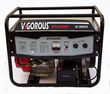 6000 Rated Watts&6500 Peak Watts- Residential Natural Gas Powered Electronic Generator
