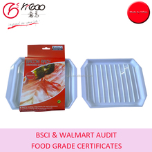 FDA/LFGB Mircowave Bacon Cooking Rack with Color Sleeve Packaging