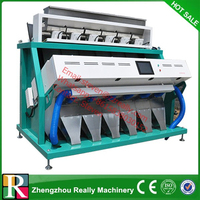 CCD Cereal Color Sorter, Color Sorting Machine for Rice, Wheat, Grain, Corn, Seeds, Beans,Tea, Peanut