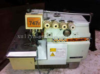 Siruba 747D Used Second Hand Old Siruba Overlock Industrial Sewing Machine For Sale