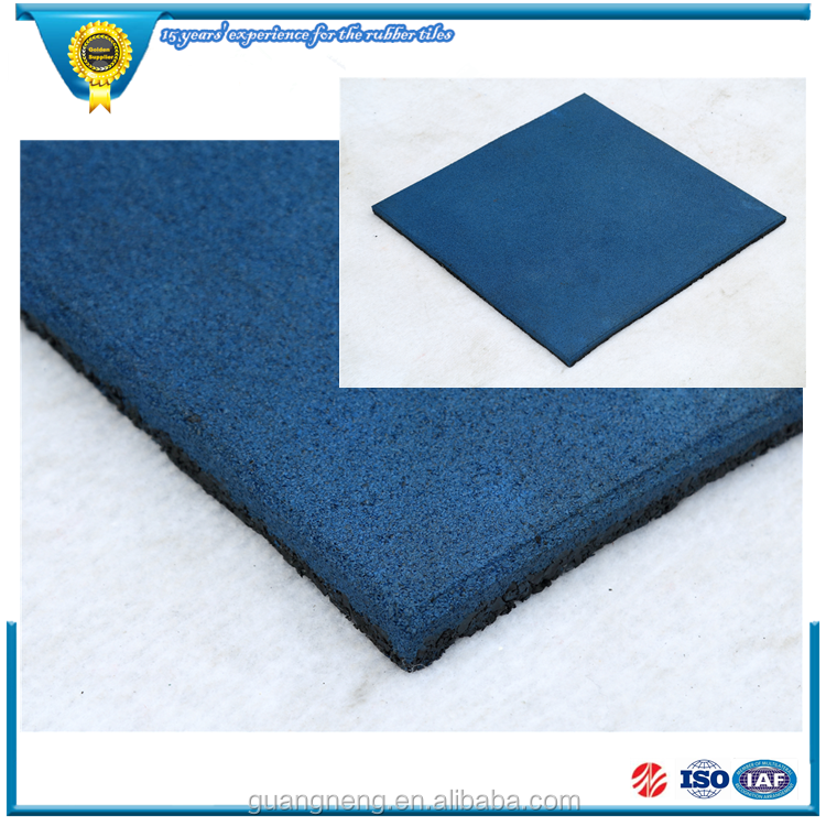 Playground Rubber Backing Commercial Floor Tile Kindergarten rubber mat