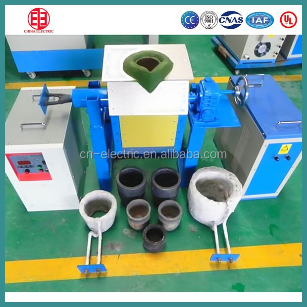 Small glass melting electric induciton furnace for sale