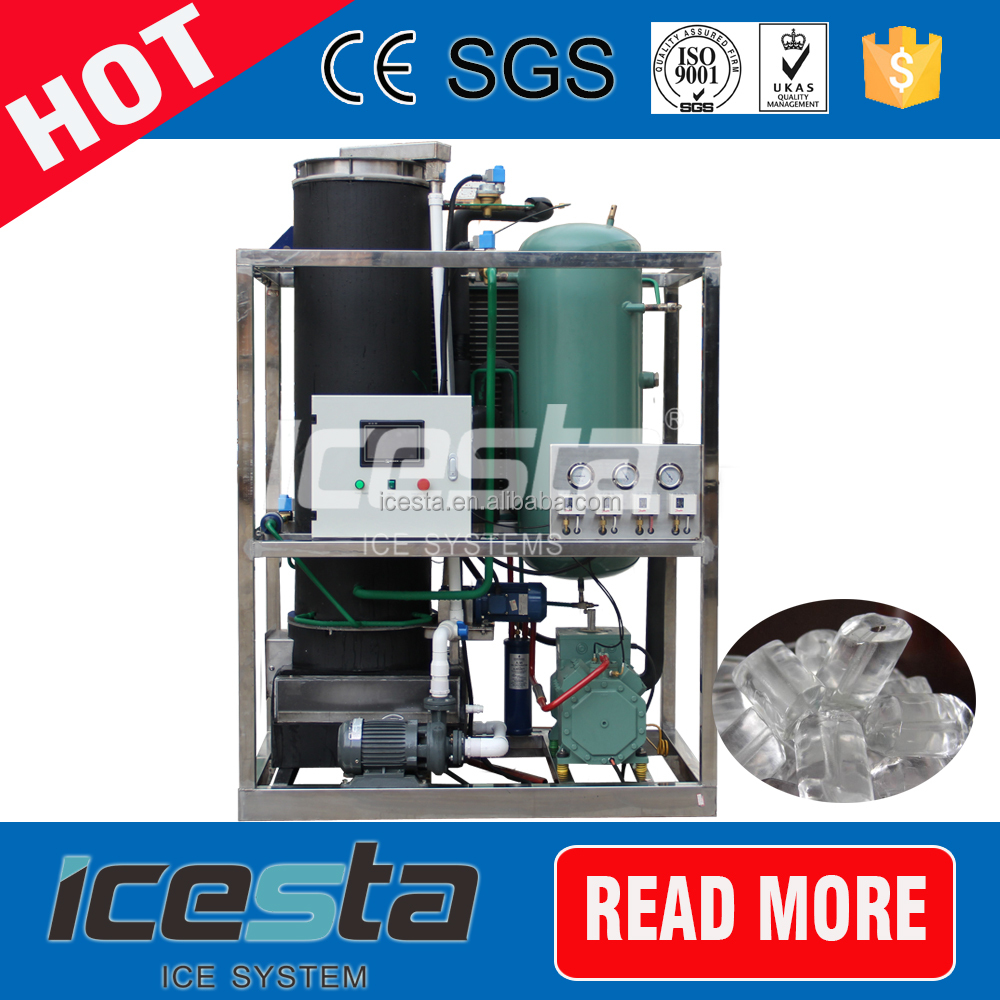 5tons industrial tube ice maker machine for philippines