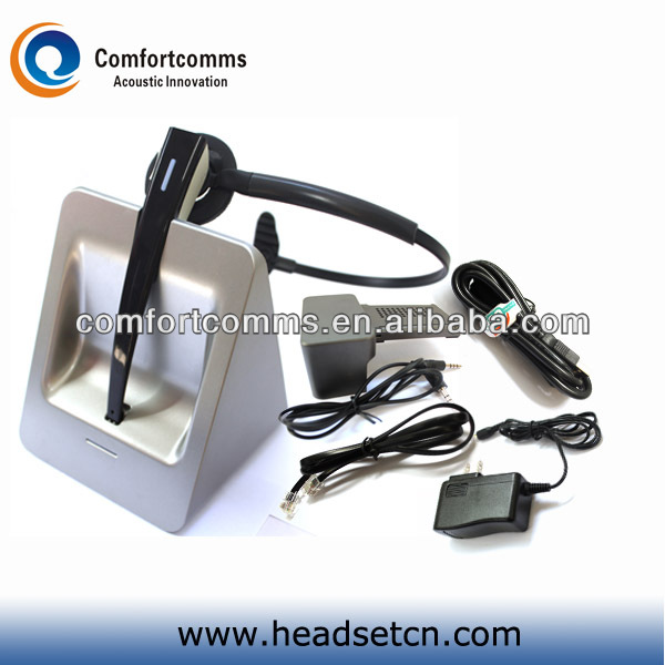 New hot call center high quality 2.4G wireless headphone headset for desk phone and computer CW-3000