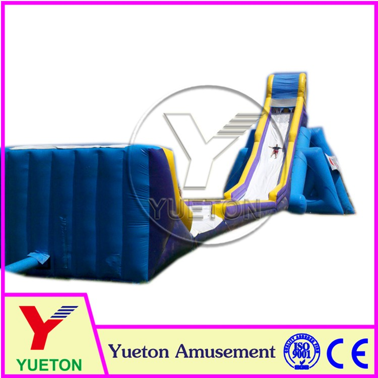 Zhengzhou Yueton Outdoor Giant Beach Inflatable Hippo Water Slide