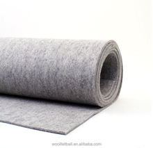 2mm 3mm 5mm 8mm 10mm thick hard white industrial wool felt