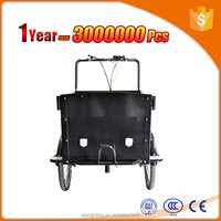 heavy duty cargo tricycle with cheap price two wheel stand up bike
