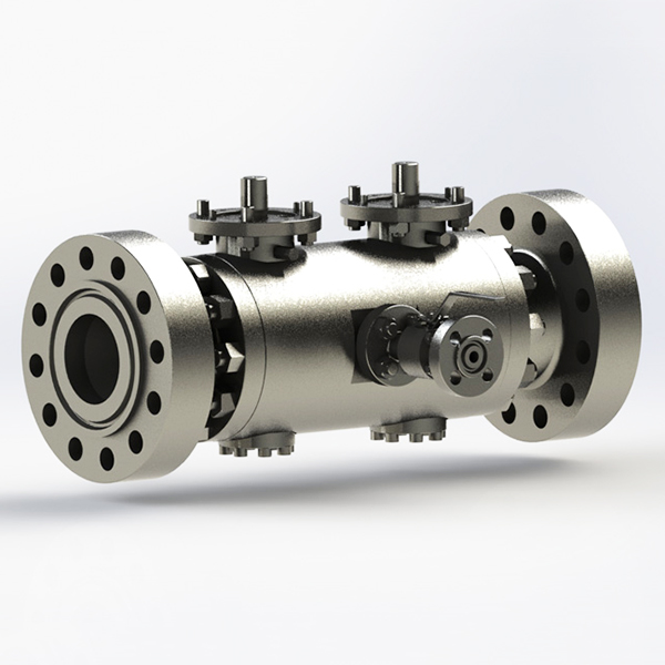 CNC Machining Aluminum Double Block and Bleed Valve