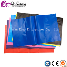 Plastic PE eco-friendly soft book covers for school exercise books