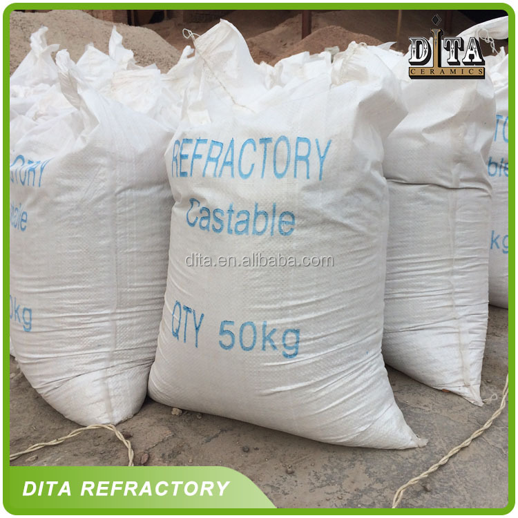 high quality castable refractory materials